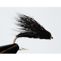 Streaking Caddis Svart